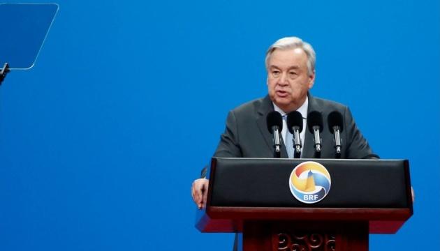 Генсек ООН закликає світ згуртуватися для придушення глобальної терзагрози в Афганістані