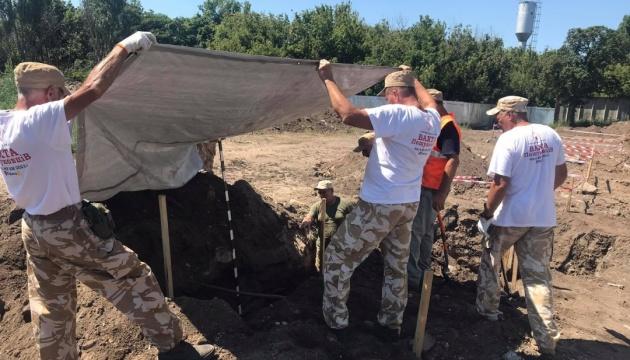 На місці масових розстрілів НКВС в Одесі знайшли шість нових ям із останками жертв