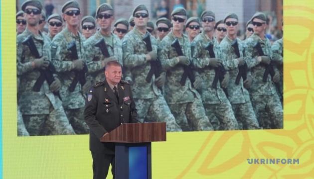Головнокомандувач ЗСУ заявив, що українська армія має готуватися до звільнення окупованих територій