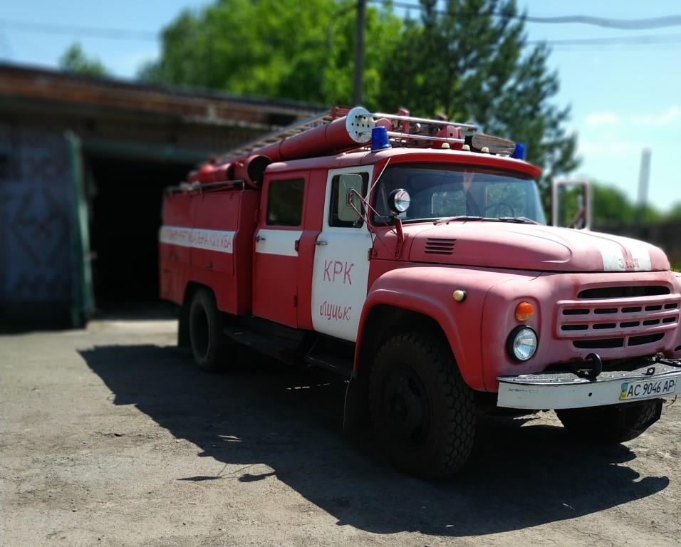 У Луцьку з аукціону продають пожежний автомобіль