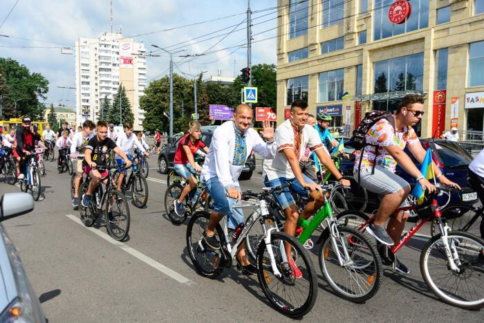 У Луцьку запрошують на велопробіг до Дня Незалежності