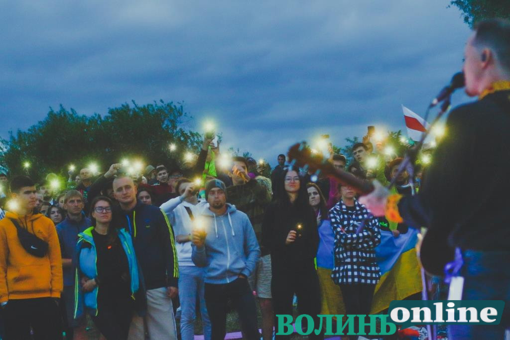Бойові пісні, лицарські бої та ватра: перший день «Бандерштату-2021» у фото
