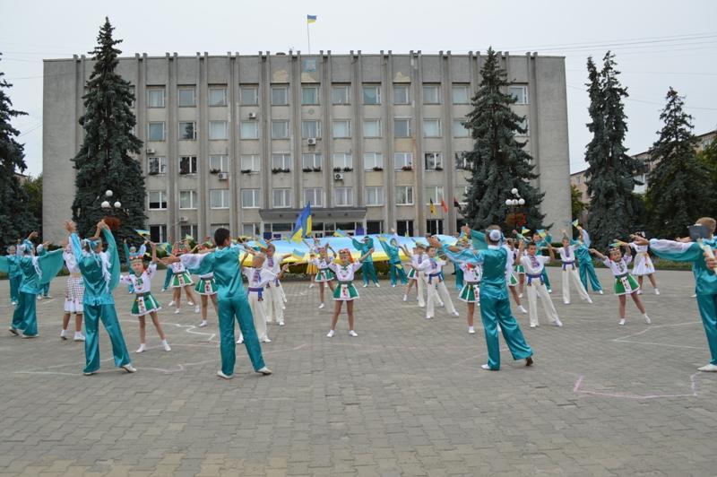 У Ковелі утворили «живу карту України»