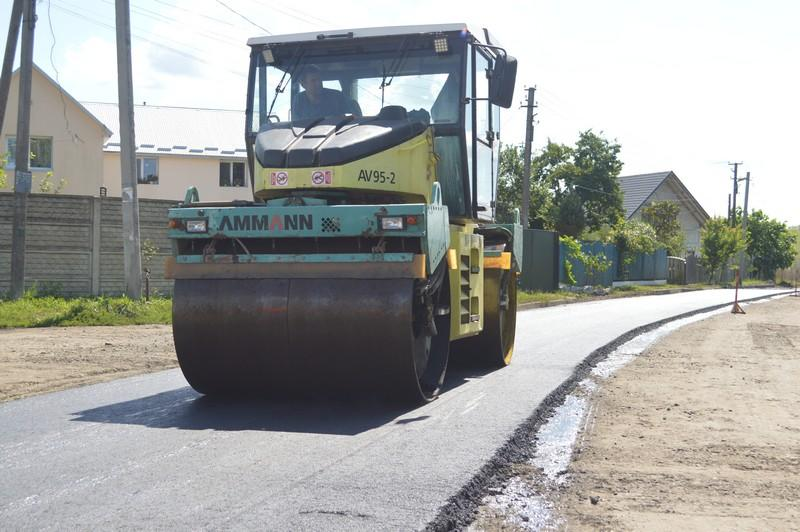 У Ковелі триває поточний ремонт дороги на двох вулицях