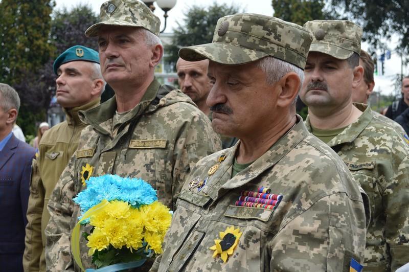 У Ковелі вшанували пам'ять тих, хто поліг за Україну