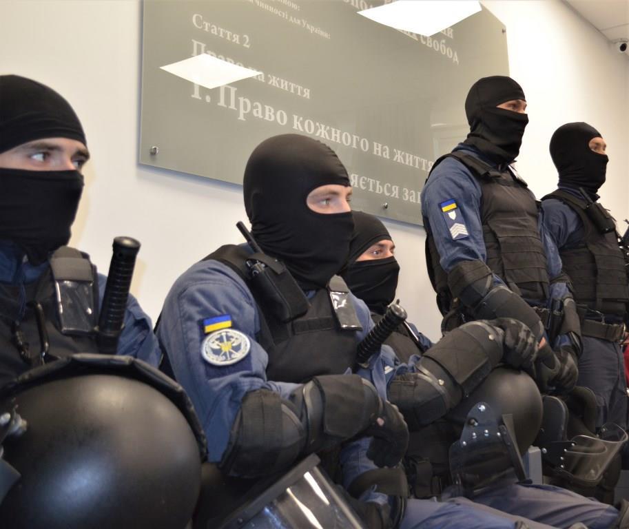 Судові охоронці Волині та Рівненщини спільно відпрацювали завдання із забезпечення безпеки судових установ
