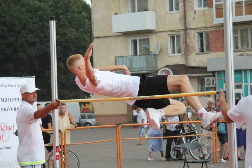 «Володимирські висоти» підкорювали майстри спорту та титуловані чемпіони