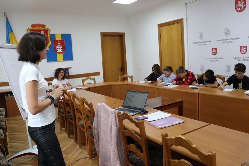 У Володимирі-Волинському дітей навчали екскурсознавства