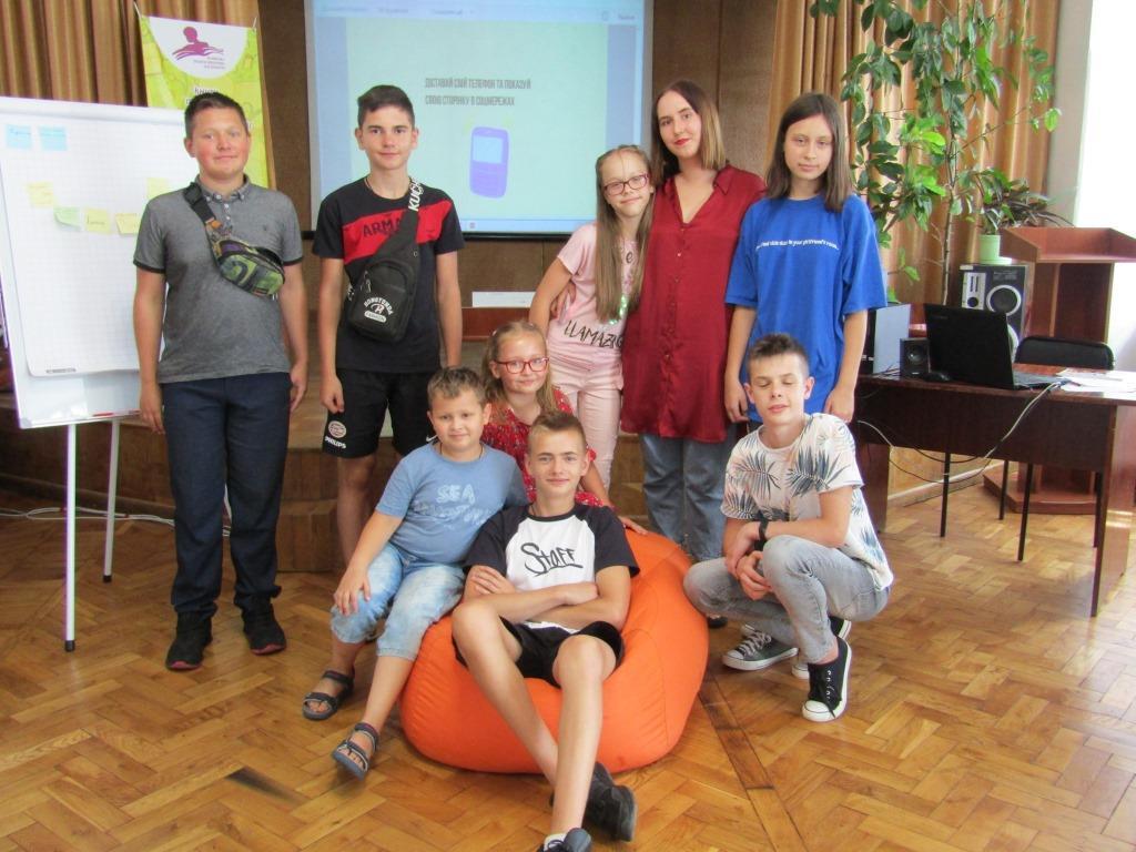 У Волинській обласній бібліотеці для юнацтва відбулася Школа Юного Блогера