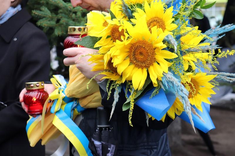 У Володимирі вшанували пам'ять полеглих захисників України