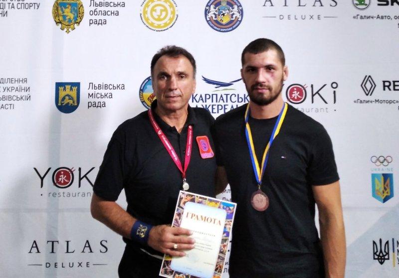 Ковельчанин здобув «бронзу» на Кубку України з вільної боротьби