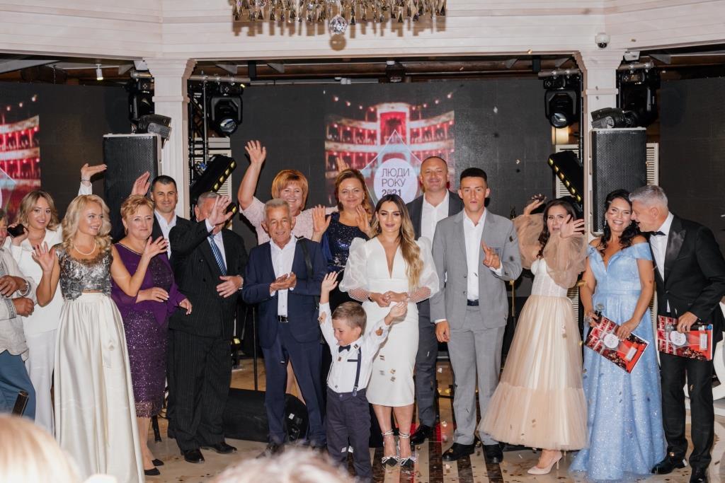 Поблизу Луцька вручили премію «Люди Року-2021. Волинь». ФОТО