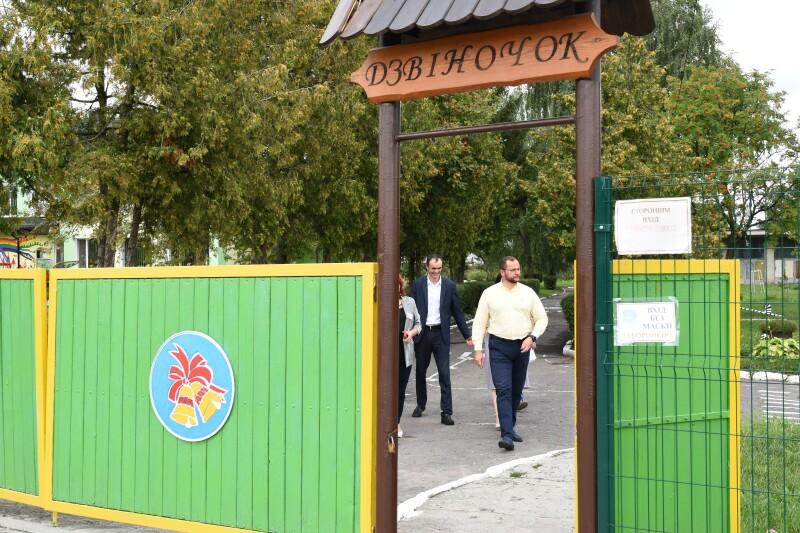 Представники міської влади проінспектували ремонті роботи шкіл та дитсадків Луцької громади
