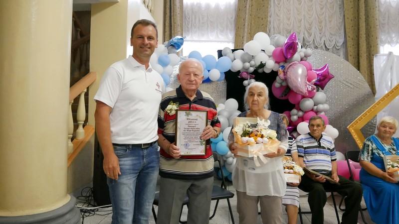У Володимирі-Волинському вшанували «золоті» подружні пари