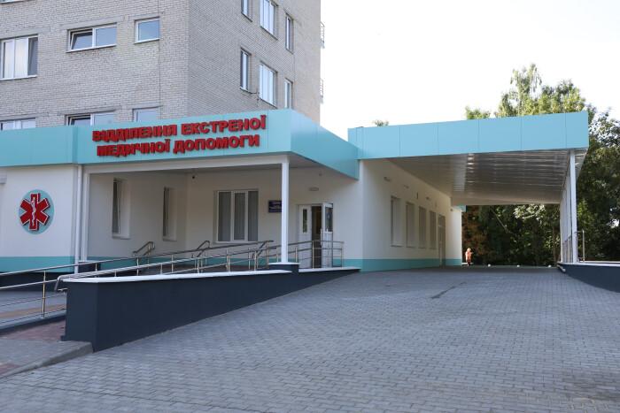 Відділення екстреної медичної допомоги Луцької міської клінічної лікарні готують до відкриття