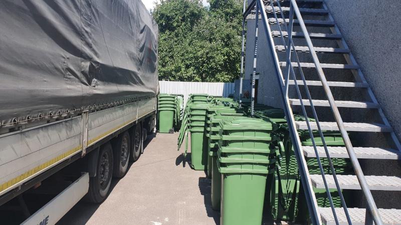 У Ківерцях закупили сміттєві контейнери для жителів приватних будинків