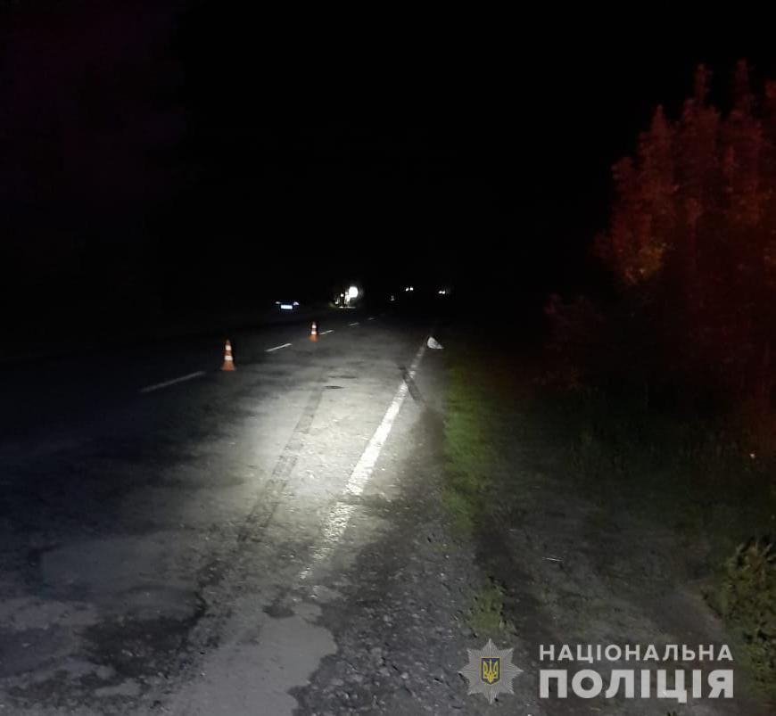 На Ратнівщині у ДТП загинув пішохід