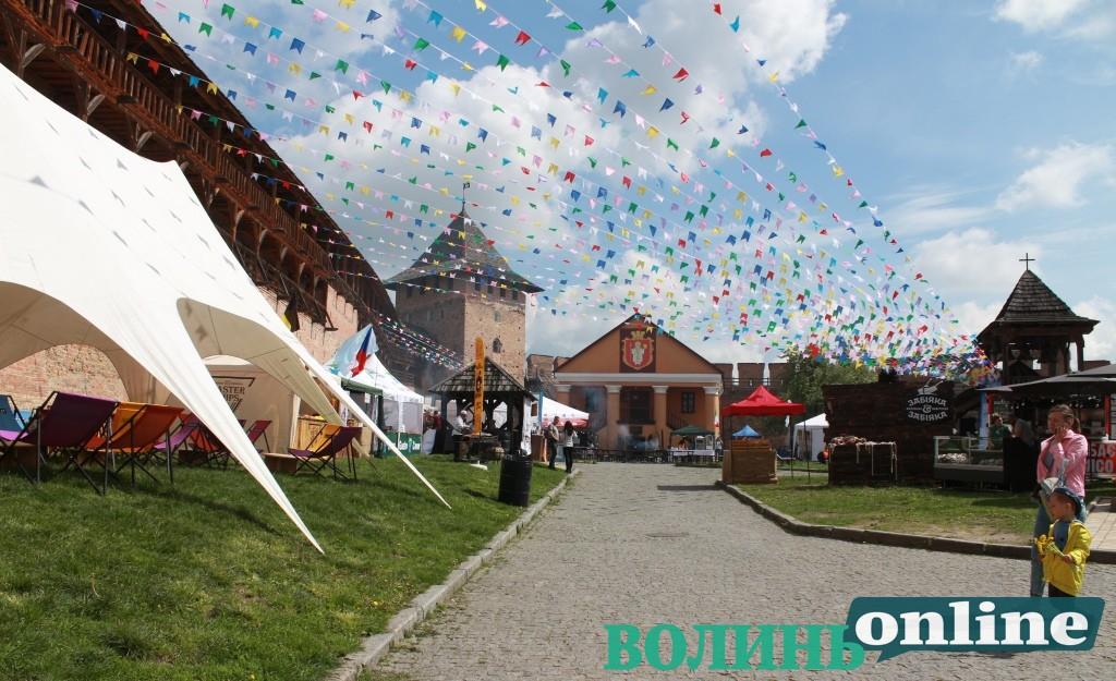 Цими вихідними у Луцьку відбудеться «Lutsk Food Fest»