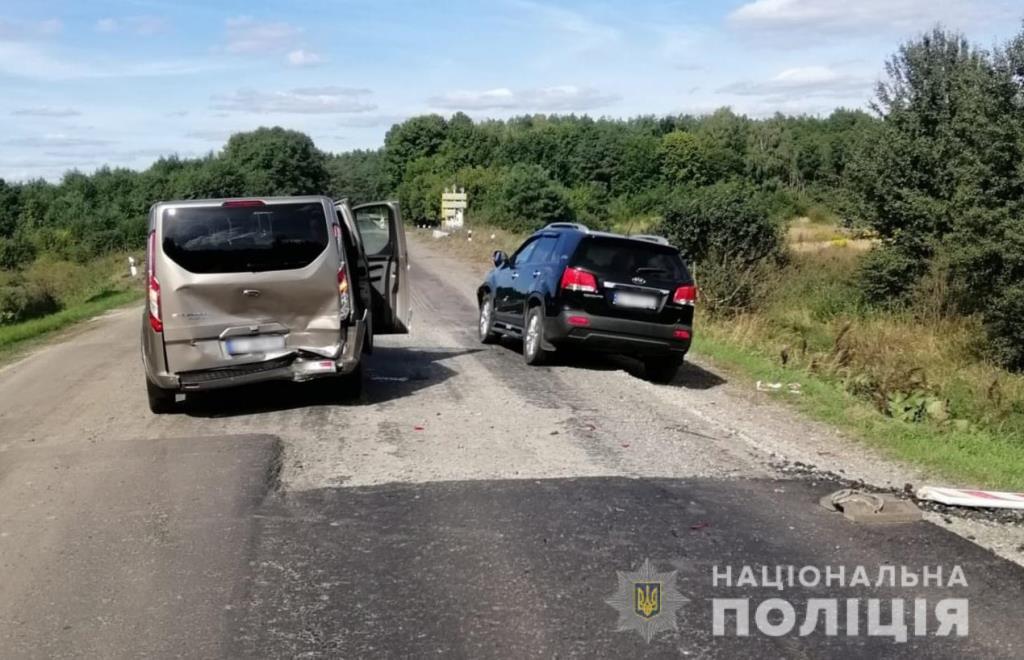 Травмовані водії, пасажири, мотоцикліст та пішохід: за добу на Волині поліція зафіксувала чотири ДТП з потерпілими