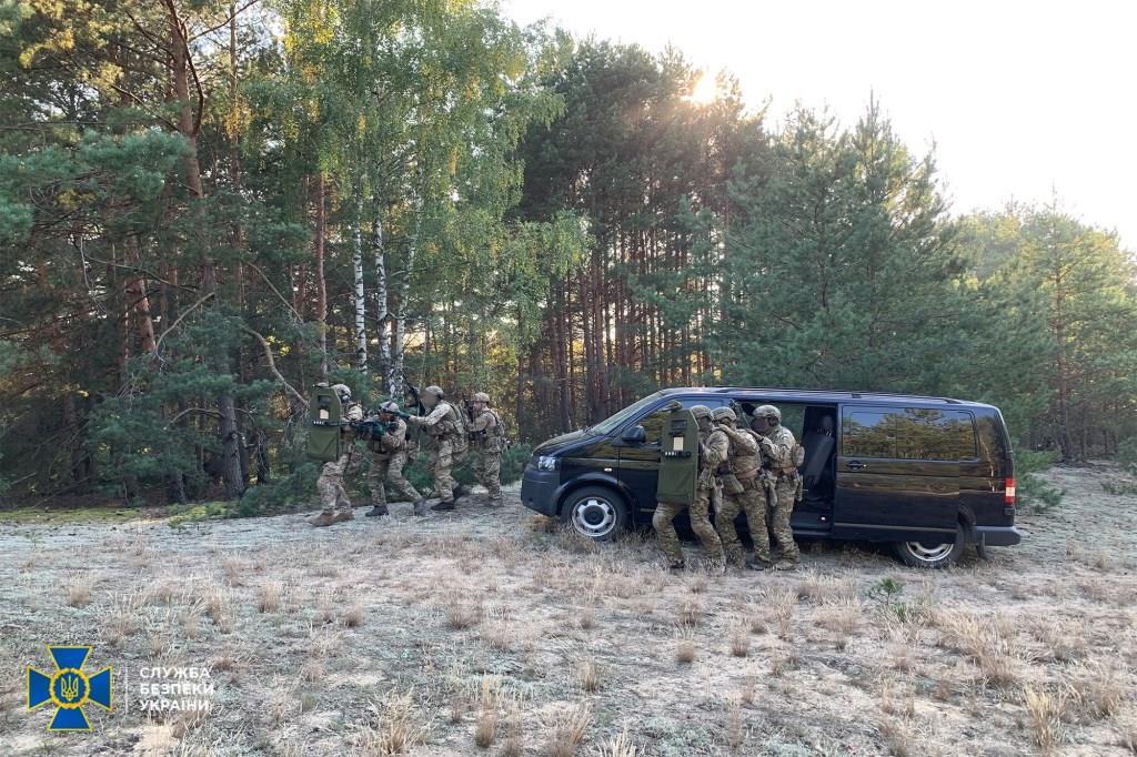 На Волині СБУ провела антитерористичні навчання поблизу кордону з Білоруссю