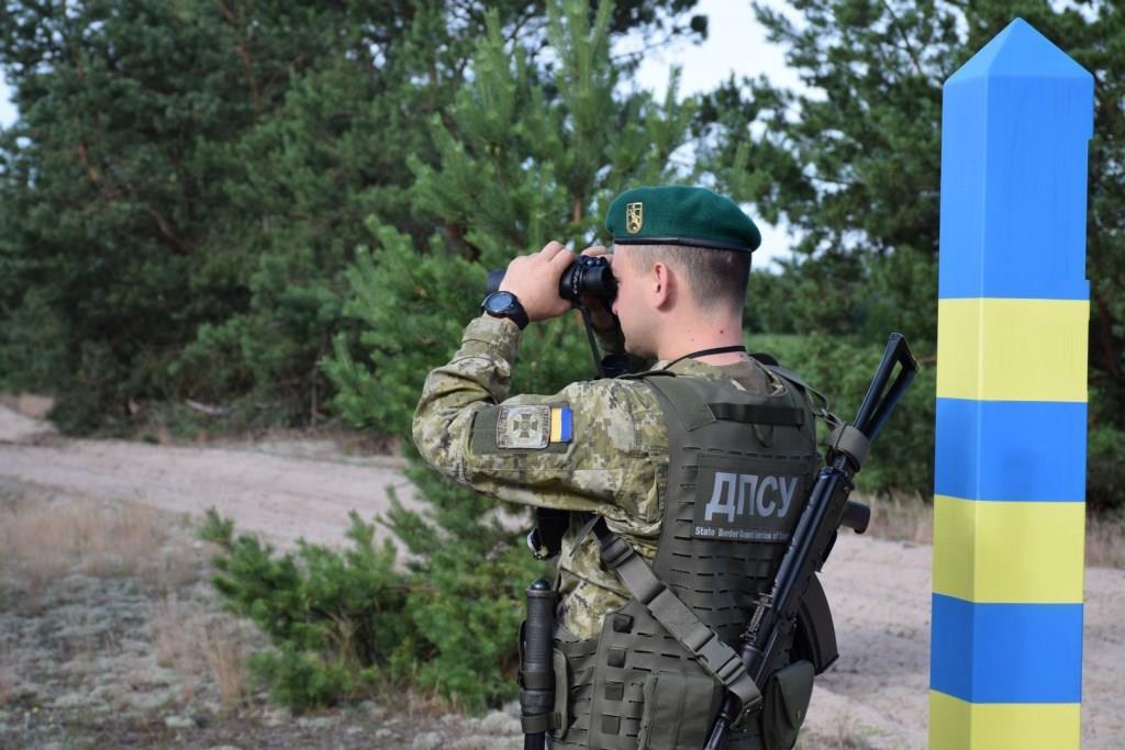 Волинські прикордонники посилено контролюють ділянку кордону з Білоруссю