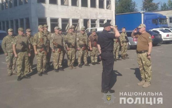 Бійці спецпідрозділу «Світязь» відправилися в чергову ротацію в зону ООС