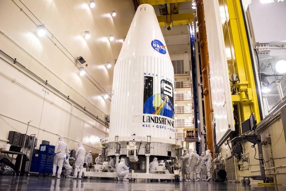 NASA готується до запуску найпотужнішого супутника в серії «Landsat»