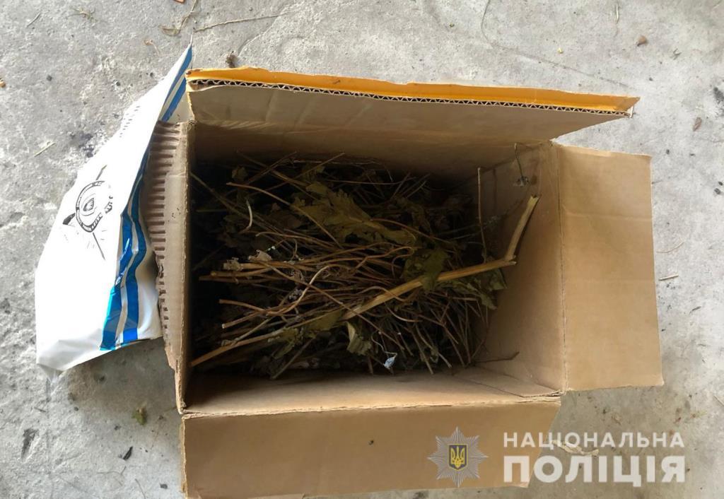 Поліцейські Любомльщини вилучили у 46-річного місцевого жителя заборонені речовини
