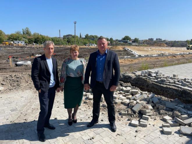 Триетапний проект відновлення стадіону у Ковелі планують завершити до кінця цього року