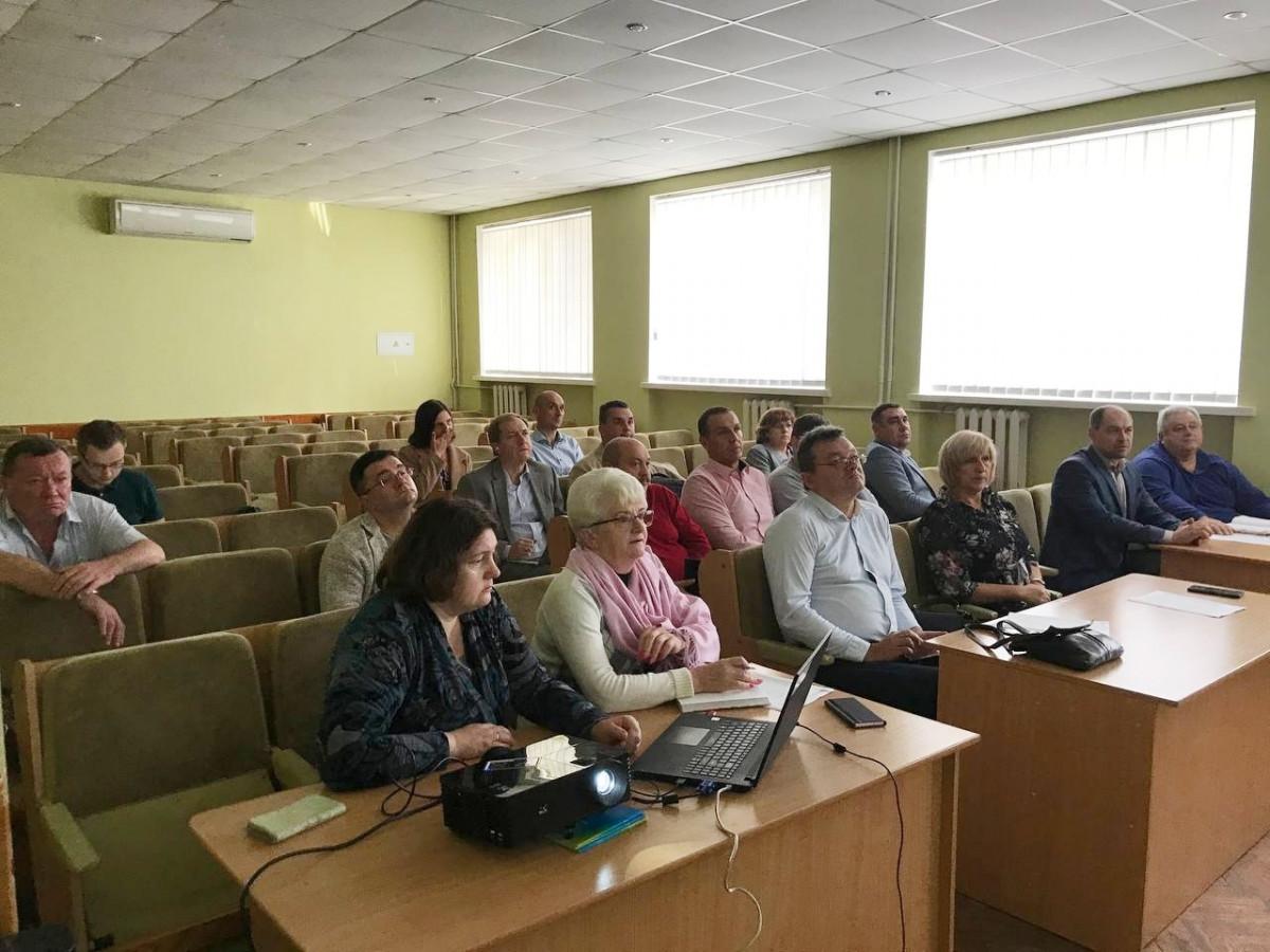 У Волинській ОДА обговорили план розвитку Волинського госпітального округу