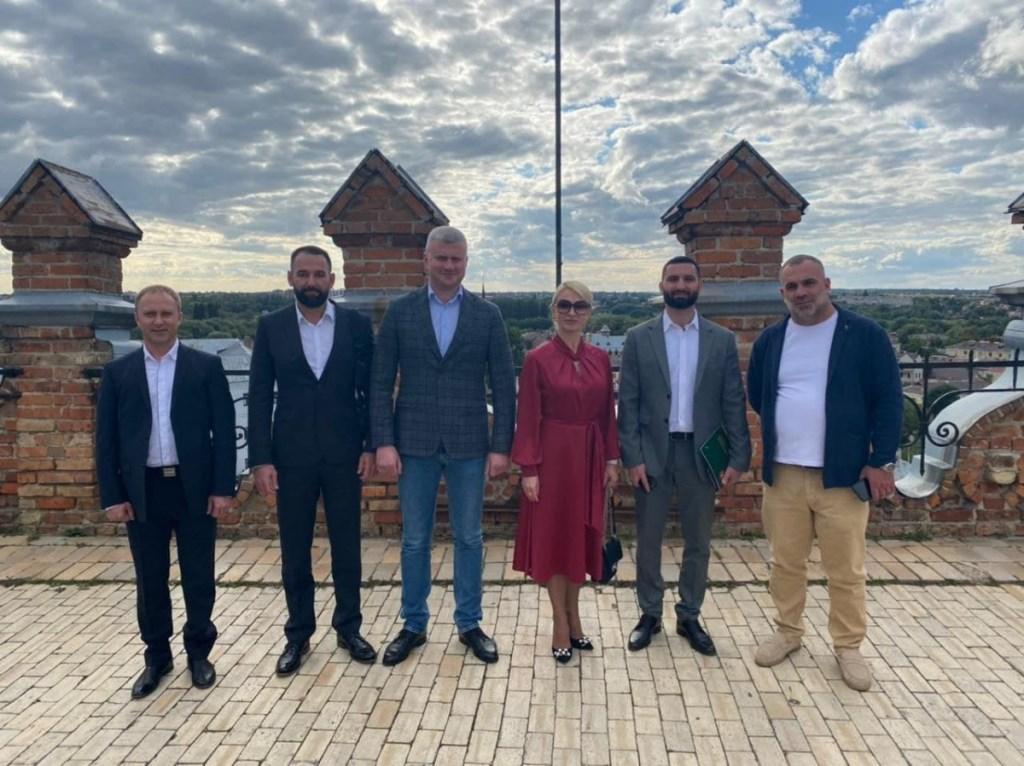 У Луцьку побувала делегація з Ужгорода