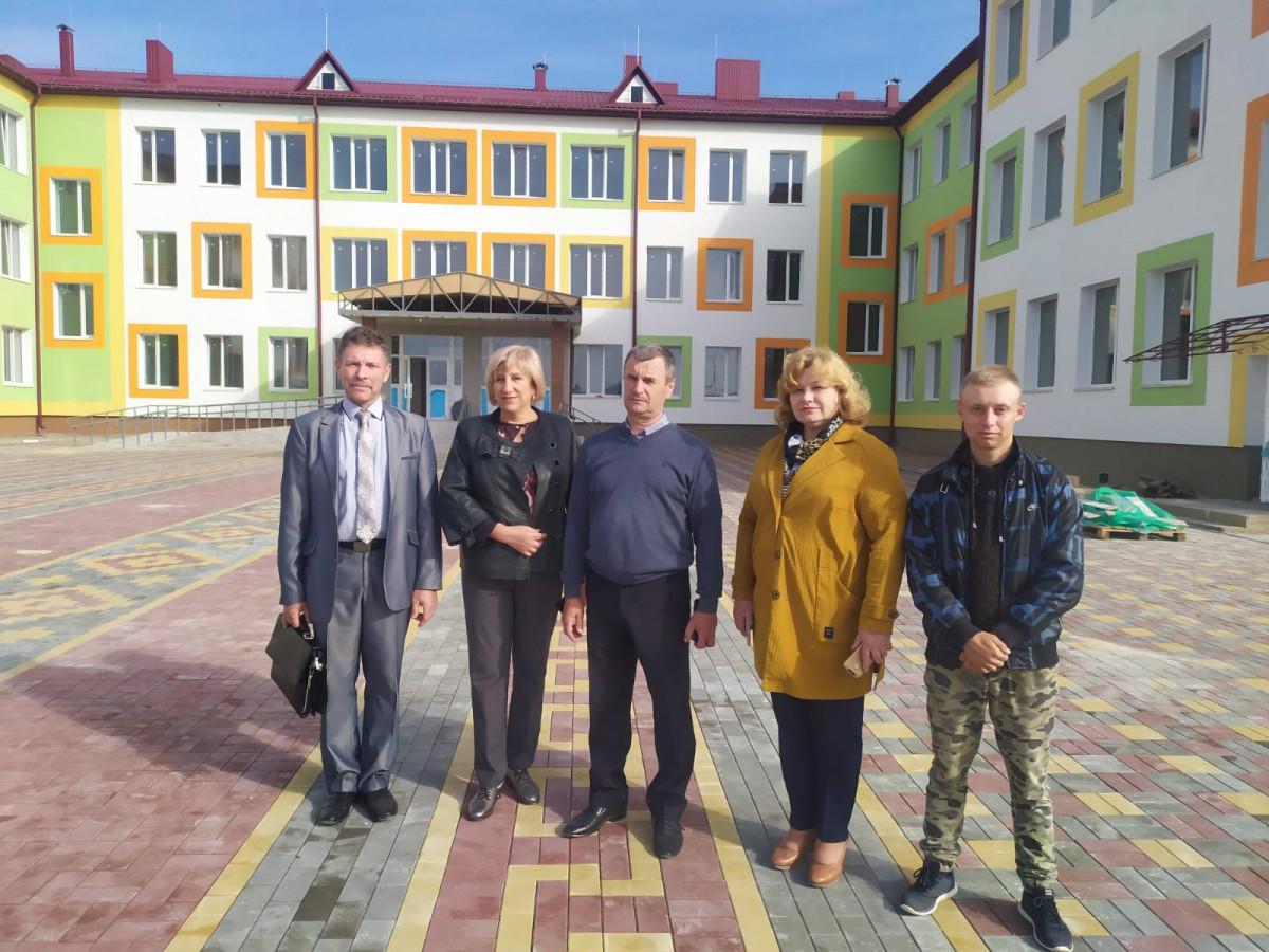Будівельна готовність нової школи у селі Башлики – 92 %
