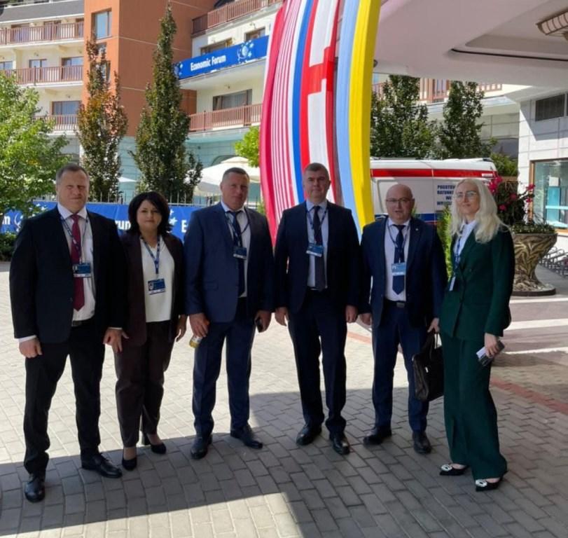 Делегація з Волині бере участь у 30-му Економічному форумі «Європа у пошуках лідерства»