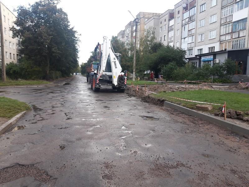 У Ковелі розпочали капітальний ремонт дороги на вулиці Заводській