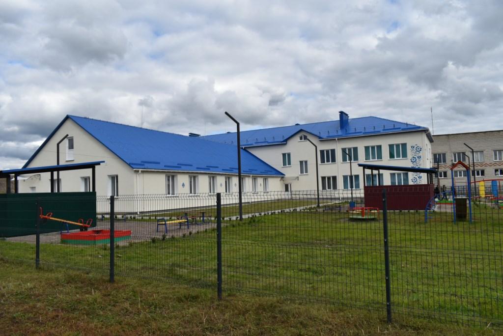 На Волині тривають завершальні роботи у новозбудованому дитсадку села Жиричі