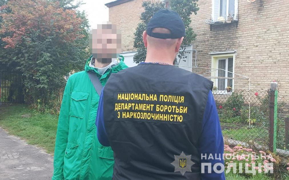 У Нововолинську поліцейські вилучили у місцевого жителя амфетамін