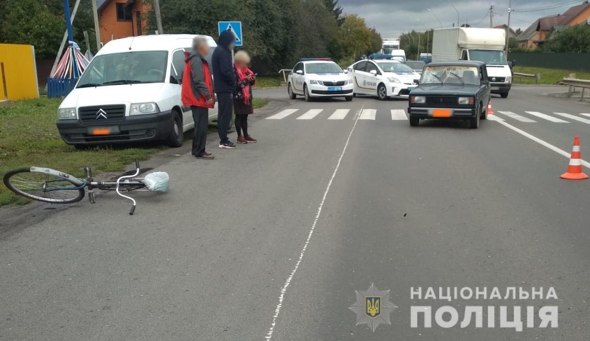 Поблизу Луцька легковик збив пішохода, постраждалий у лікарні
