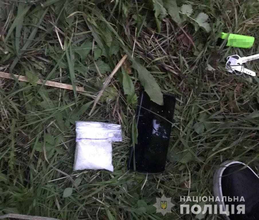Вистачило б на майже 100 доз: поблизу Луцька затримали зловмисника з наркотиками