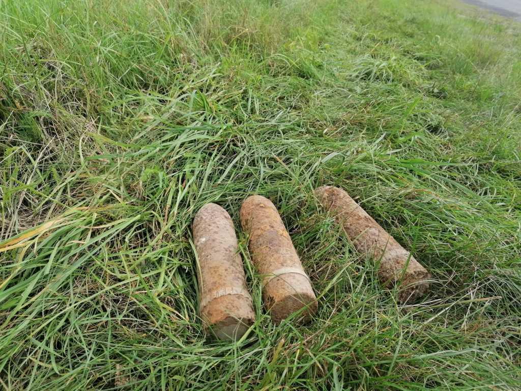 Артснаряди, мінометна міна та авіаційна бомба: сапери ДСНС на Волині знищили боєприпаси часів Другої Світової війни