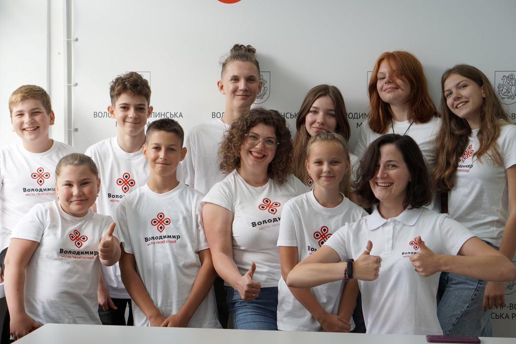 Вихованці «Школи маленьких гідів» у Володимирі-Волинському запрошують на першу благодійну екскурсію-квест