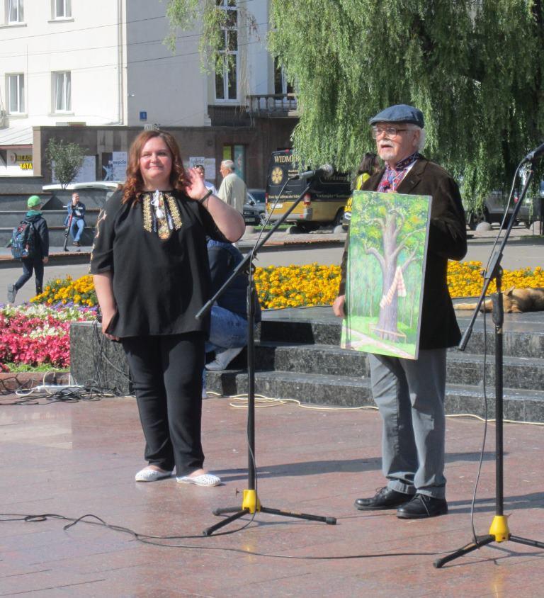 У Луцьку вдвадцяте урочисто відкрили фестиваль «Лісова пісня»