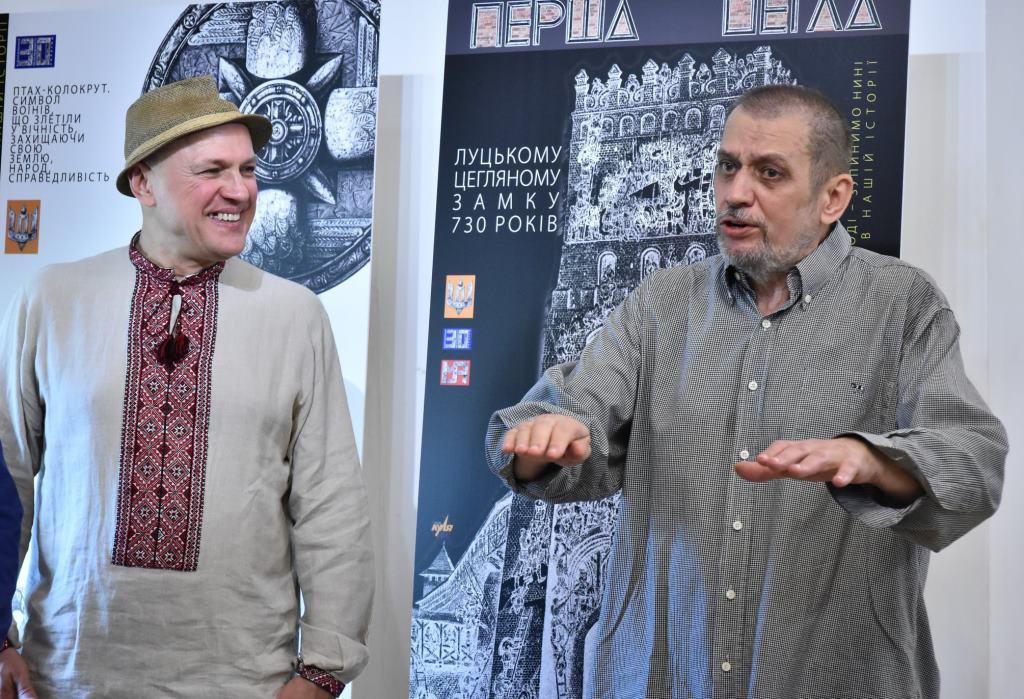 У Луцьку презентували проект «Лучеськ. Вимір часу»