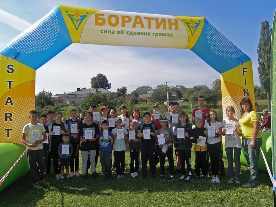 У громаді поблизу Луцька відбувся спортивний фестиваль