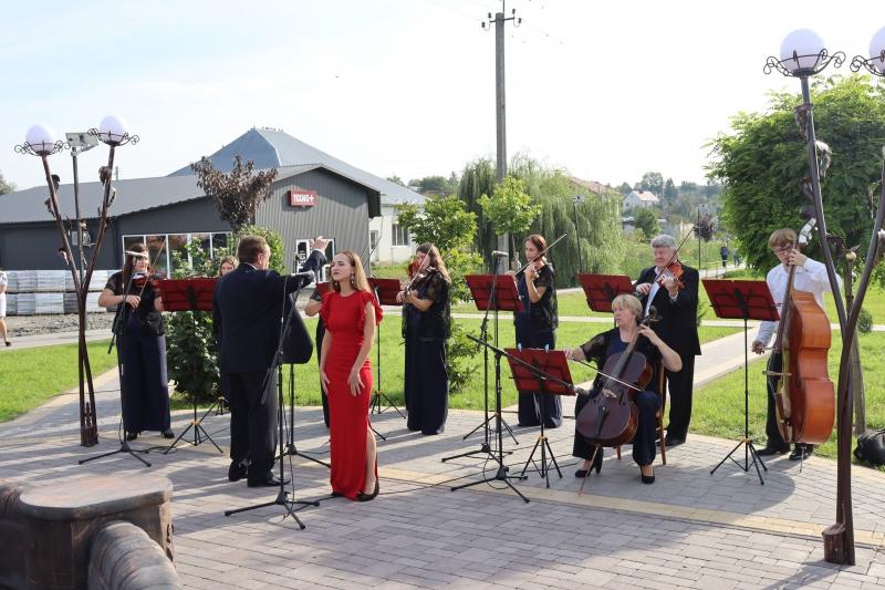У Горохові відбувся концерт академічного камерного оркестру «Кантабіле»