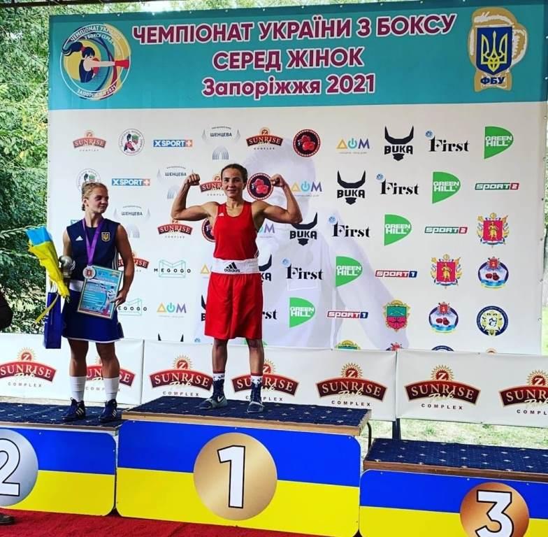 Волинська боксерка стала чемпіонкою України