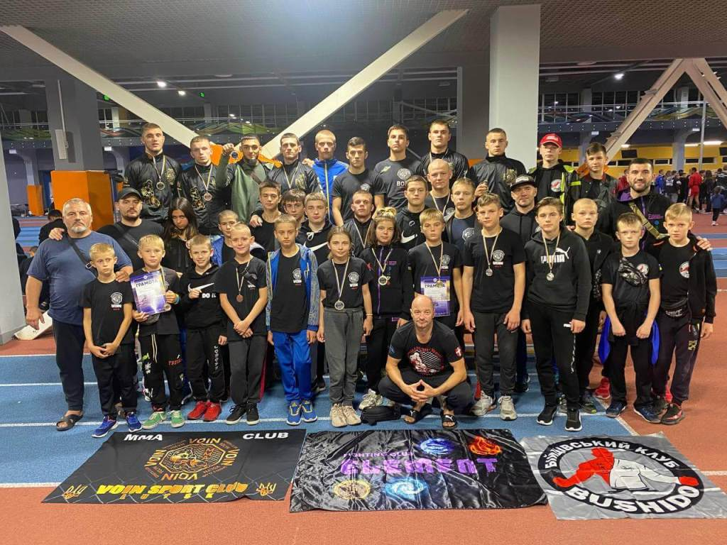 Волинські спортсмени здобули 21 медаль чемпіонату України з бойового самбо