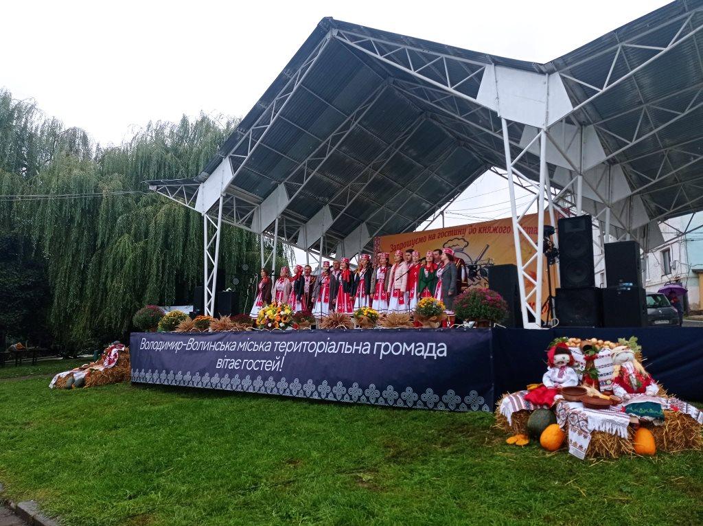У Володимирі-Волинському організували гастрономічний фестиваль