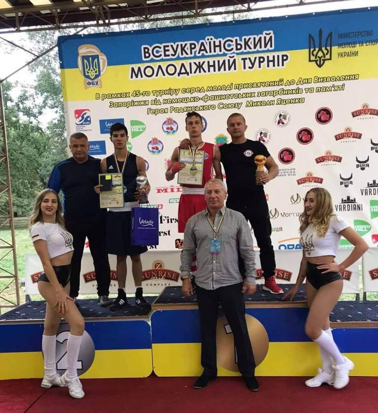 Лучанин став срібним призером Всеукраїнського турніру з боксу серед молоді