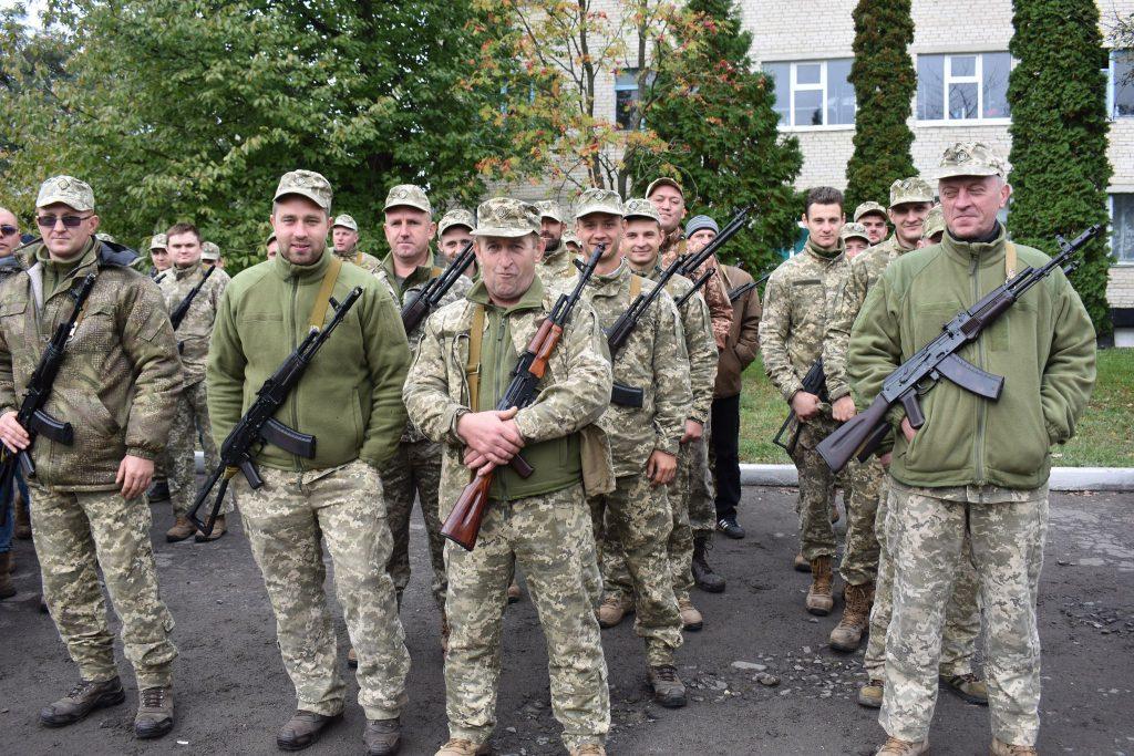 На Волині розпочалися навчання батальйону територіальної оборони
