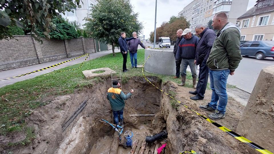 У Володимирі-Волинському інспектували ремонтні роботи на вулицях міста